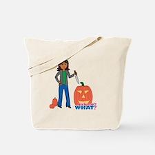 Pumpkin Carver Tote Bag