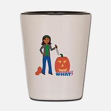 Pumpkin Carver Shot Glass