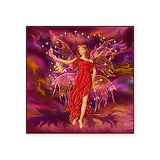 "Fairy Flame 12x12 Square Sticker 3"" x 3"""