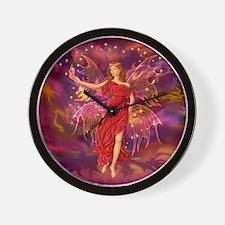 Fairy Flame 12x12 Wall Clock
