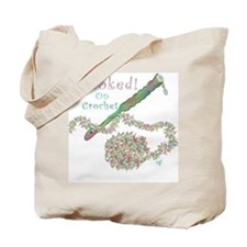 Hooked On Crochet and Long Stem Rose Totebag