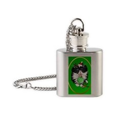 Ornament A Tuxedo Merry Christmas Flask Necklace