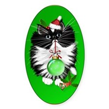 Ornament A Tuxedo Merry Christmas Decal