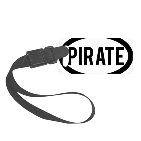 Pirate Small Luggage Tag
