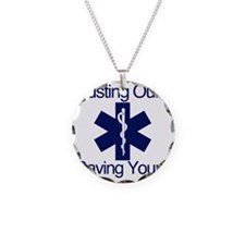 Busting Ours, Saving Yours Necklace