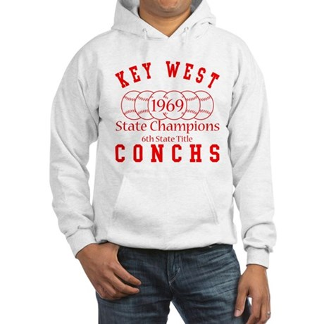 1969 Key West Conchs State Champions. Hooded Sweat
