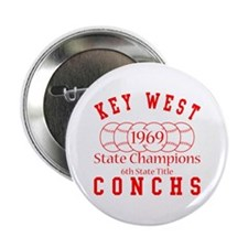 1969 Key West Conchs State Champions. Button