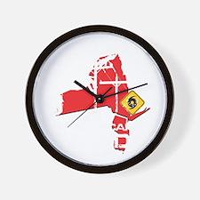 Hurricane Sandy Lineman Wall Clock
