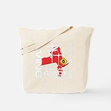 Hurricane Sandy Lineman Tote Bag