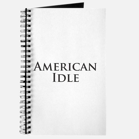 American Idle Journal