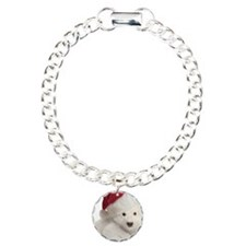 Polar Bear Cub Christmas Bracelet