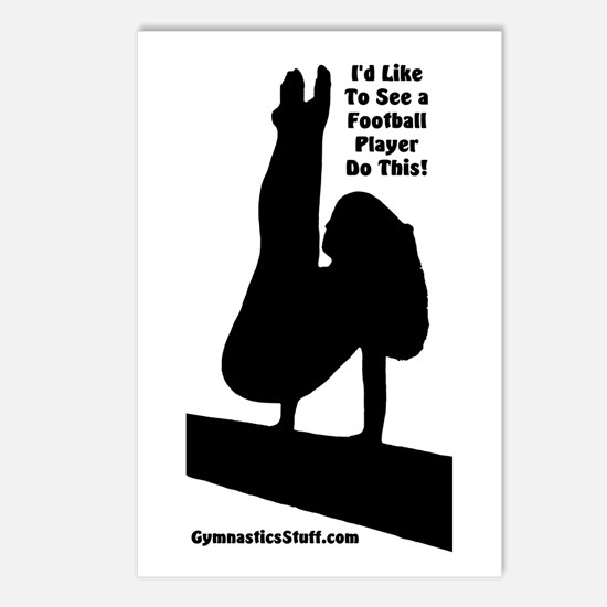 Gymnastics Postcards - Ftbl