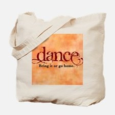 bring it SQUARE Tote Bag