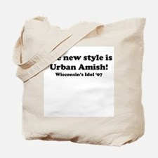 Urban Amish Wisconsin Tote Bag