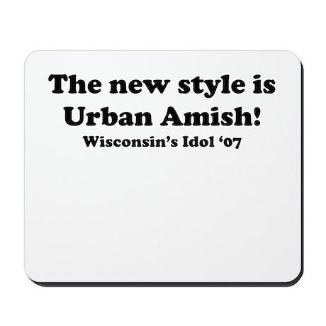 Urban Amish Wisconsin Mousepad