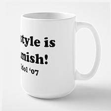 Urban Amish Wisconsin Large Mug