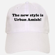 Urban Amish Baseball Baseball Cap
