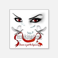 "Twilight saga Breakingdawn  Square Sticker 3"" x 3"""