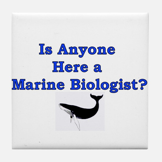 Marine Biologist Tile Coaster