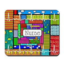 Nurse blanket Mousepad