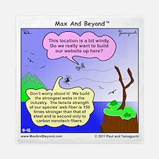 Windy Spider Website Cartoon Queen Duvet