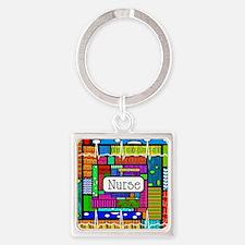 Nurse blanket Square Keychain
