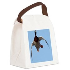 Duck, Cupped Wings D1232-099 Canvas Lunch Bag