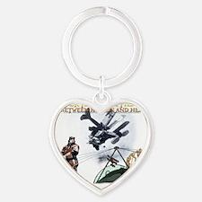 OFF 2 Heart Keychain