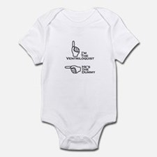 Ventriloquist/Dummy (Right) Infant Bodysuit