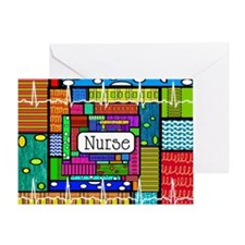 Nurse blanket Greeting Card