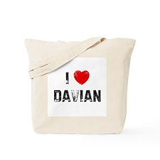 I * Davian Tote Bag