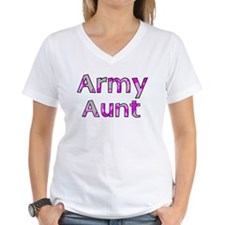 Army Aunt Pink Camo Shirt