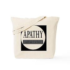 apathybutton Tote Bag