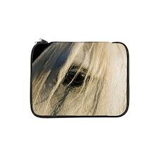 "Close up of horse's eye 13"" Laptop Sleeve"