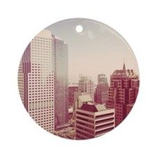 Downtown San Francisco with view of Round Ornament