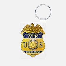 ATF badge Keychains