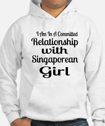 I Am In Relationship With Singap Hoodie