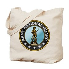 Army National Guard Tote Bag: Miltary Emblem