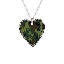 Green Camo Necklace