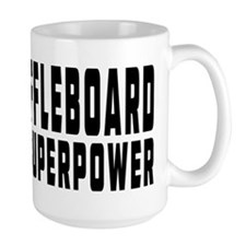 Shuffleboard Is My Superpower Mug