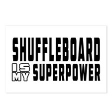 Shuffleboard Is My Superpower Postcards (Package o
