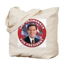 Sam Brownback for President Tote Bag