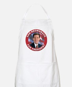 Sam Brownback for President BBQ Apron