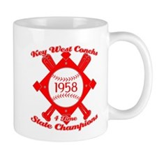 1958 Key West Conchs State Champions Small Mug