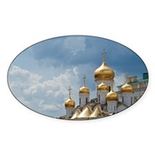 Golden domes of Russian Orthodox Ch Decal