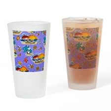 beach Drinking Glass