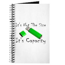 USB Storage Capacity Journal