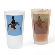 Cupped Wings Duck D1232-076 Drinking Glass