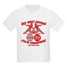1956 Key West Conchs State Champions Kids T-Shirt