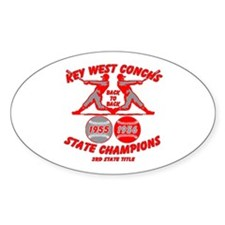 1956 Key West Conchs State Champions Decal